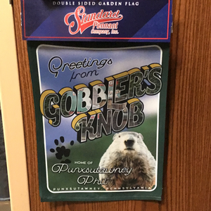Greetings from Gobbler's Knob Garden Flag