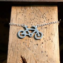 bike commission bicycle jewellery silver