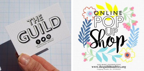 the guild Dumfries pop up online shop crafts market