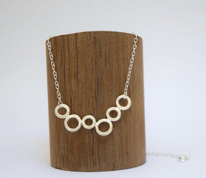 Bubble Circle Necklace
