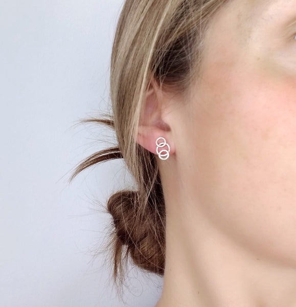 Venn Stud Earrings