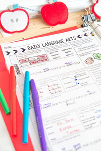 4th Grade Daily Language Spiral Review
