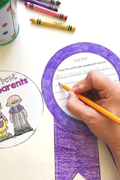 Grandparents Day writing craft