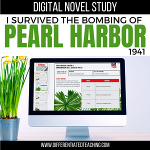I Survived the Bombing of Pearl Harbor, 1941 Digital Novel Study