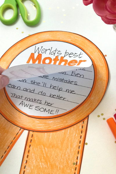 Mothers Day writing activity