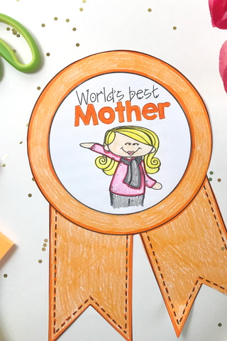 Mothers Day Writing Craft for Kids
