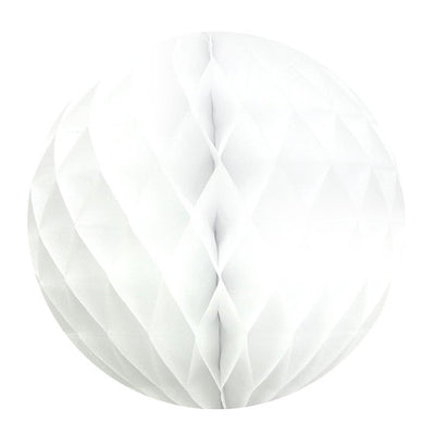 White Paper Honeycomb Decoration