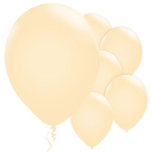 "Ivory Pearl 11"" Round Latex Balloons"