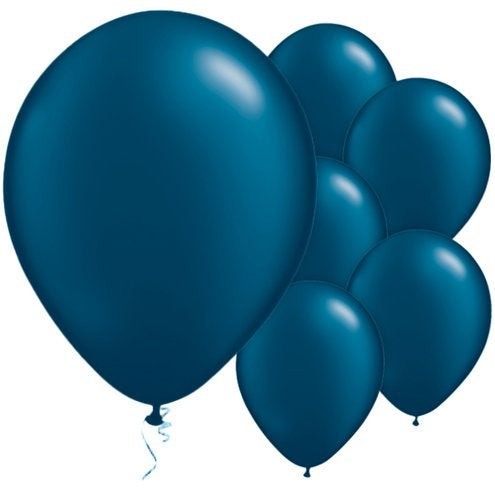 "Midnight Blue 11"" Round Latex Balloons"