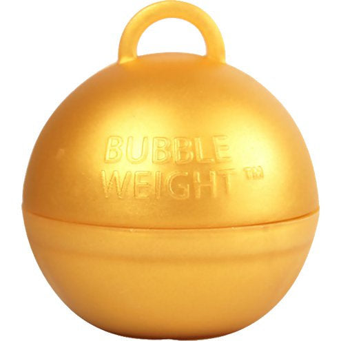Gold Balloon Bubble Weight
