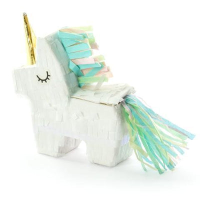 Mini Unicorn Piñata - Party Favour