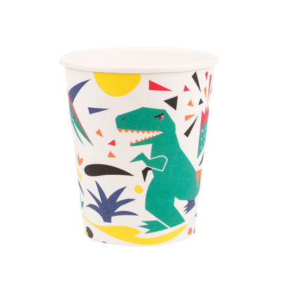 Dinosaur Paper Cups - Pack of 8 - Dinosaur