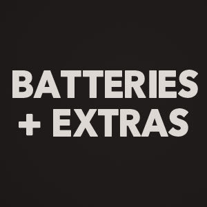 Batteries and Extras
