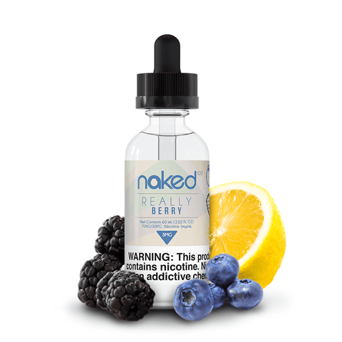 Naked 100 - Really Berry 50ml - VapeShackUk