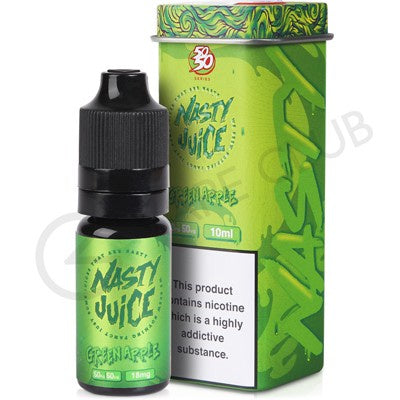 Nasty Juice 50/50 - Green Ape - VapeShackUk