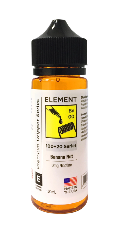 Element - Banana Nut Bread 100ml - VapeShackUk