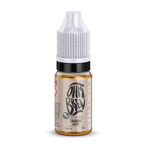 Ohm Brew Salts - Caramel Latte 10ml