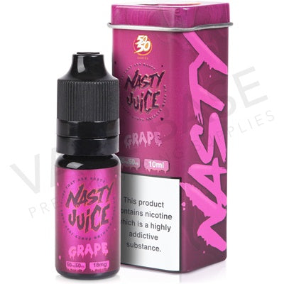 Nasty Juice 50/50 - Asap Grape - VapeShackUk