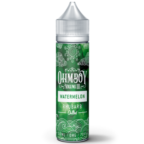 Ohm Boy Vol III - Watermelon Rhubarb Chilled - 50ml