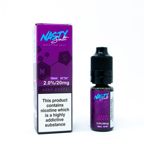 Nasty Juice Salts - ASAP Grape - VapeShackUk