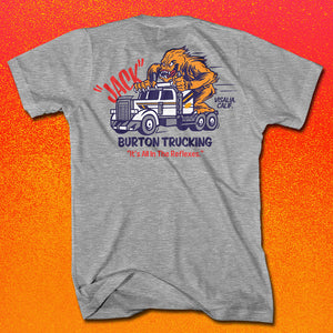 Burton Trucking Heather Grey