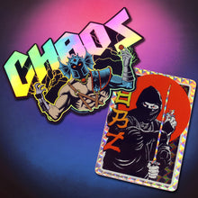 Load image into Gallery viewer, CHAOS & Ninja Stickers
