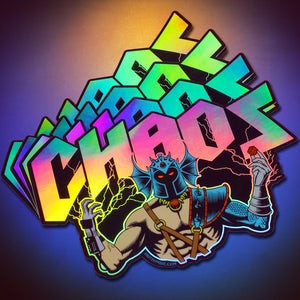 CHAOS & Ninja Stickers