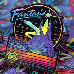 Eternia & Fantasia Sticker Set