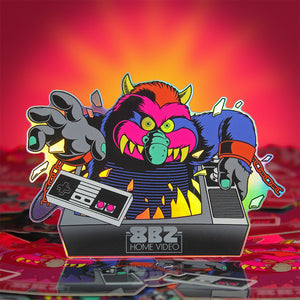 80's Monsters Stickers