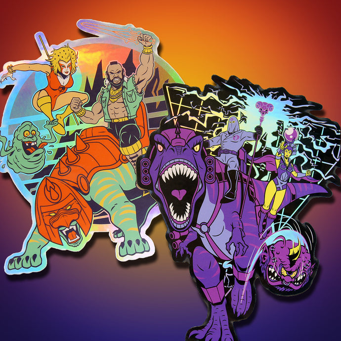 Heroes & Villains Sticker Set