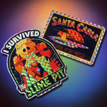 Load image into Gallery viewer, Slime Pit & Santa Carla Sticker Set