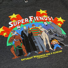 Load image into Gallery viewer, Super Fiends Charcoal Tee