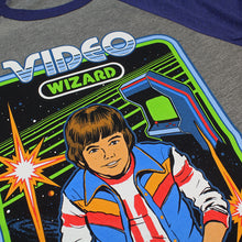 Load image into Gallery viewer, Video Wizard Baseball Tee