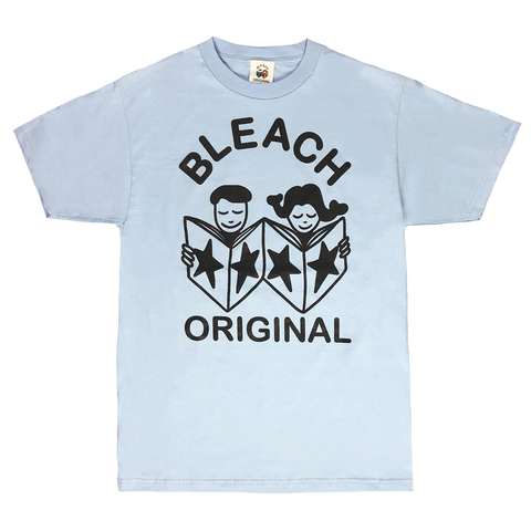 Bleach Original T-Shirt - Ice Blue/Black