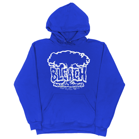 Peace Out Heavyweight Sweatshirt - Royal Blue/White