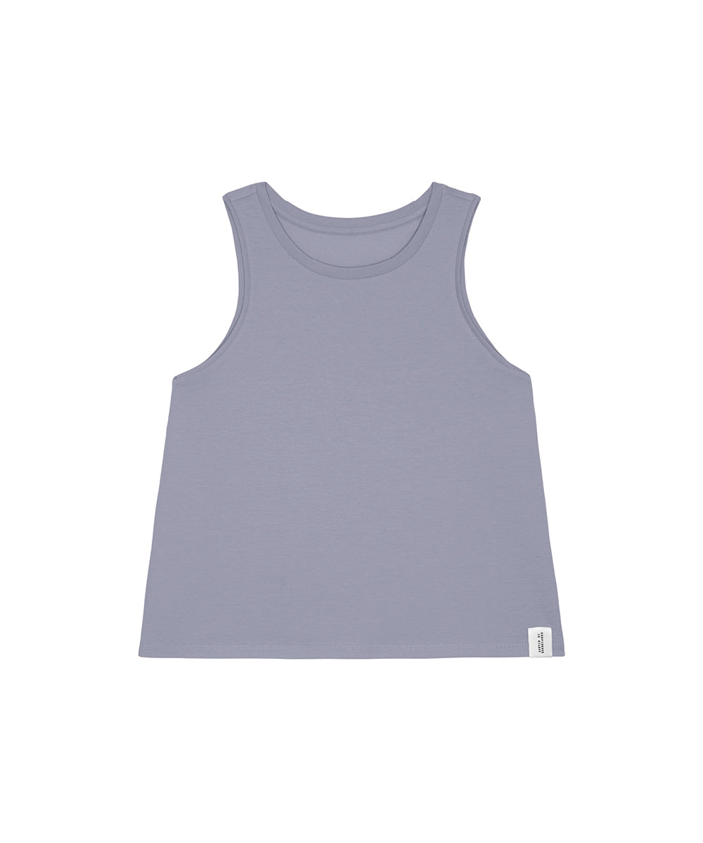 Blaugraues Tanktop Confidence Is Silent