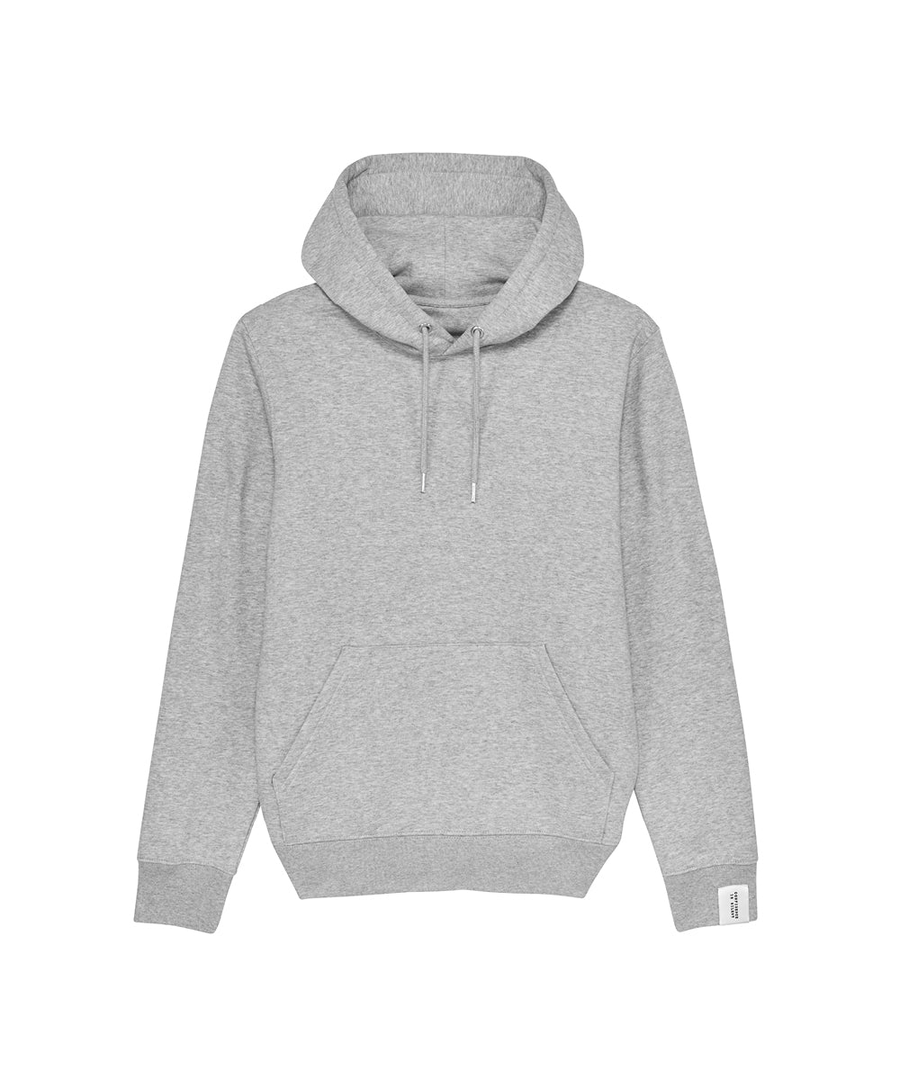 Grauer Hoodie mit Kapuze Confidence Is Silent