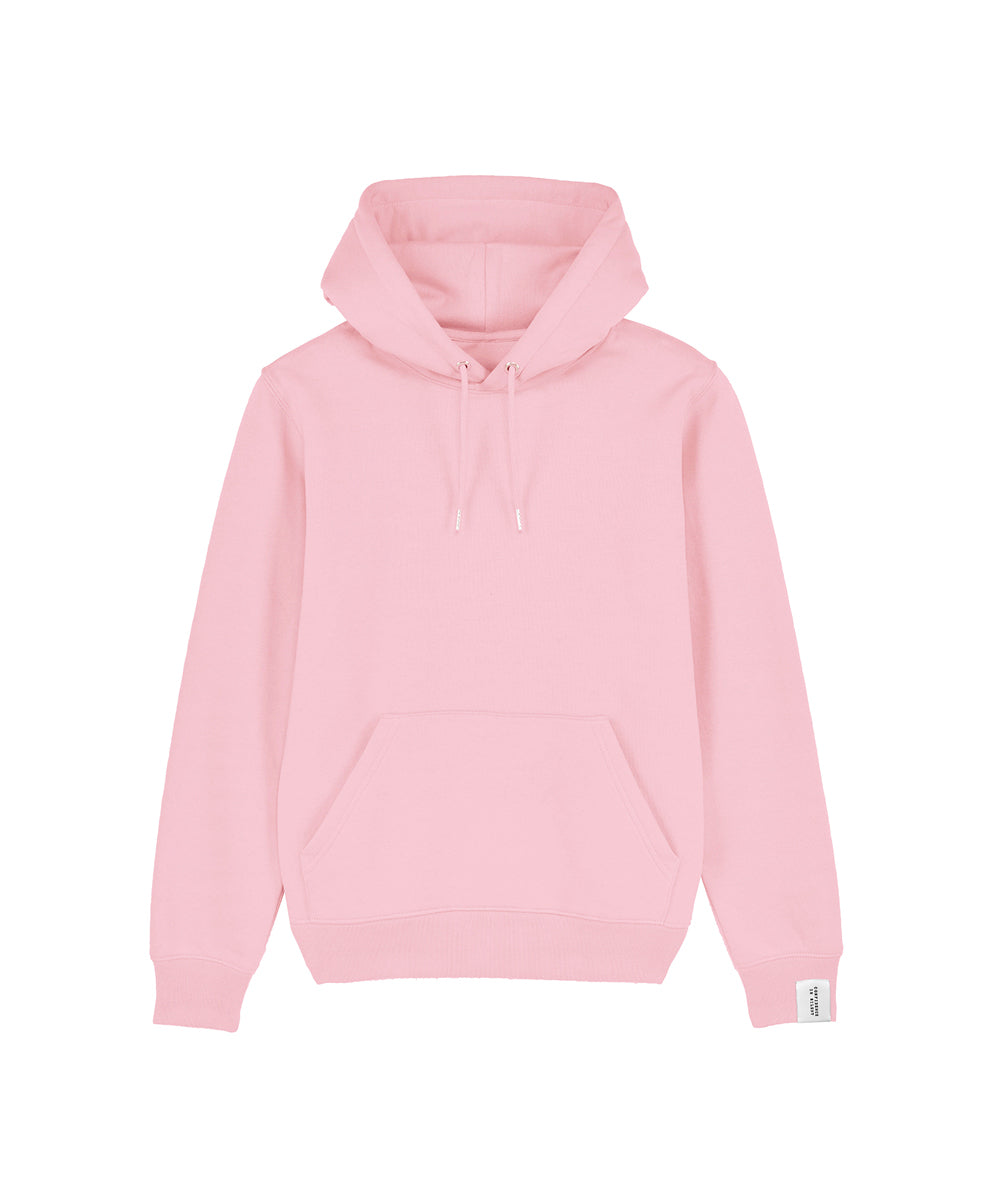 Rosa Hoodie mit Kapuze Confidence Is Silent