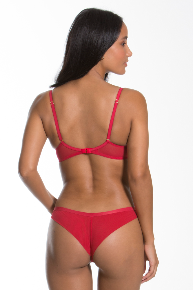 Gossard Guipure Brazilian Brief