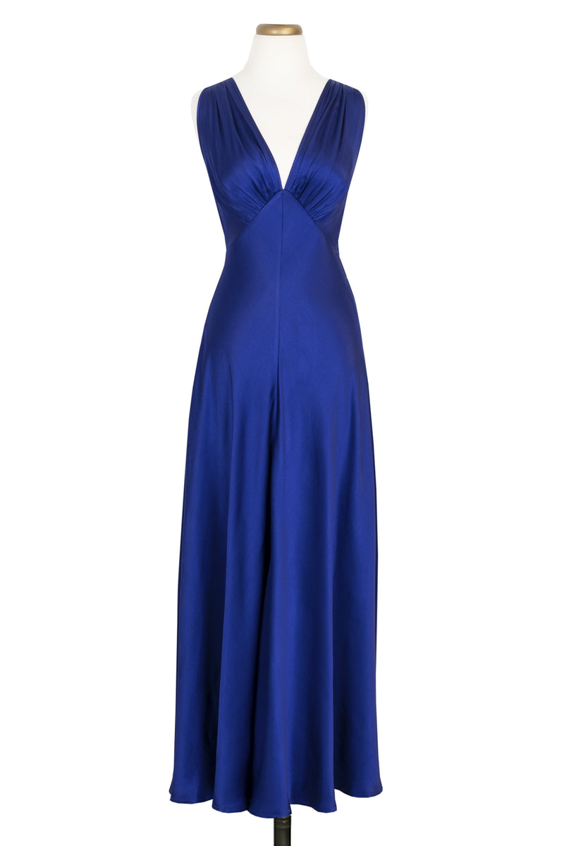 1930s Bias Gown - Royalty Satin