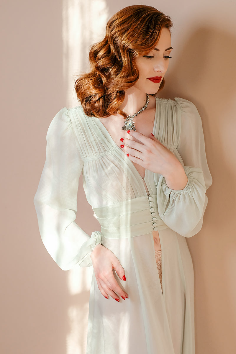1940's Long Robe - Forties Follies