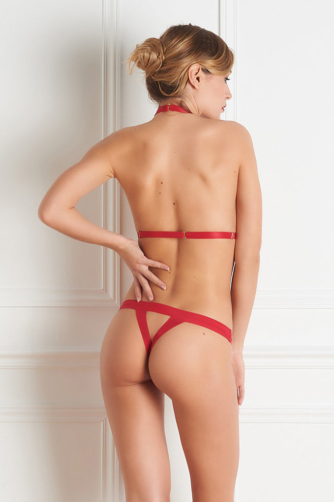 Maison Close Tapage Nocturne Open Thong