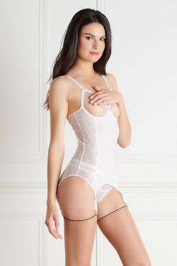 Maison Close La Directrice Naked Breast Bustier