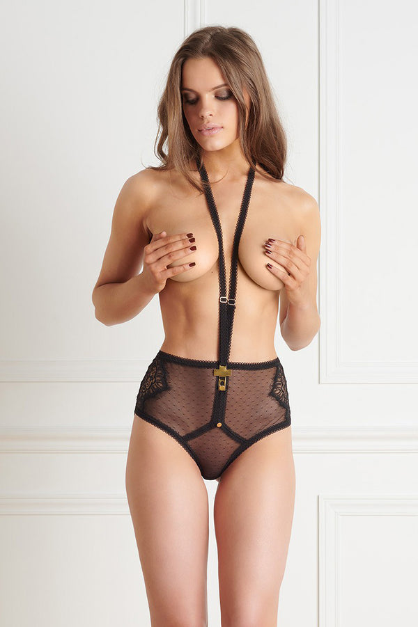 Maison Close Inspiration Divine High Waist Harness Panty