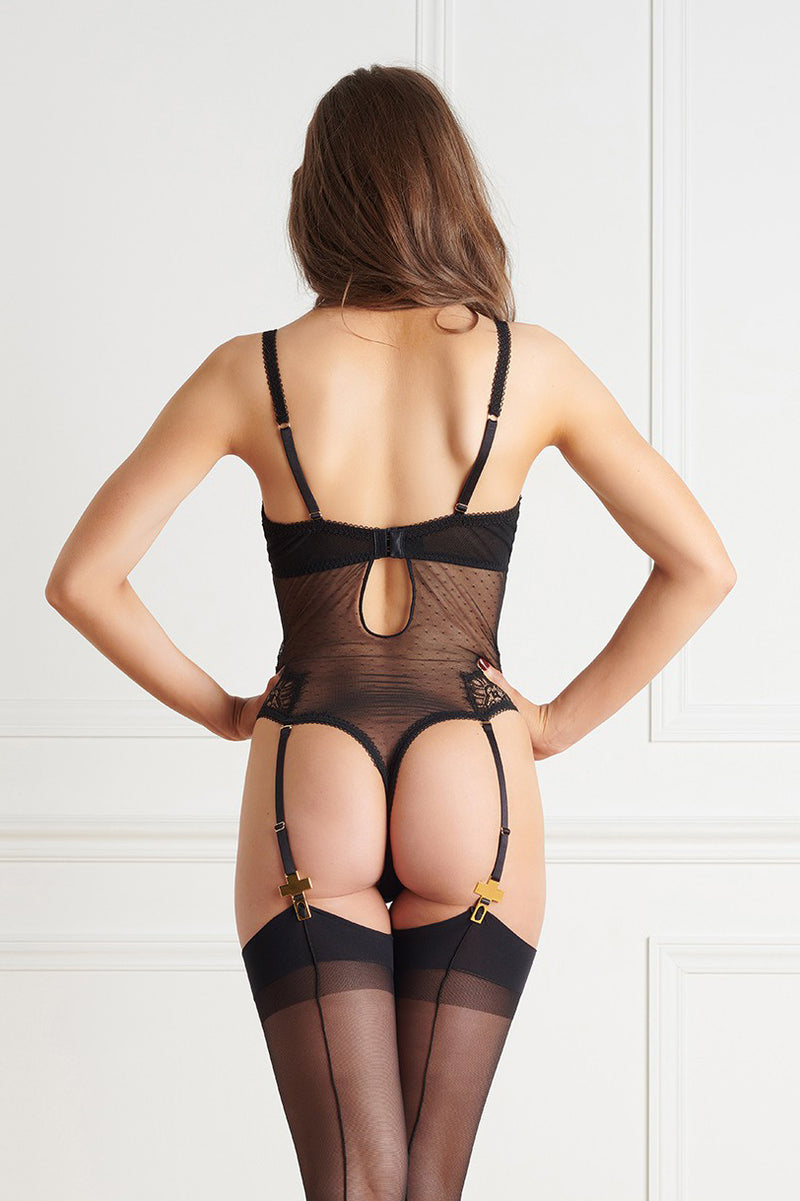 Maison Close Inspiration Divine Thong Bodysuit
