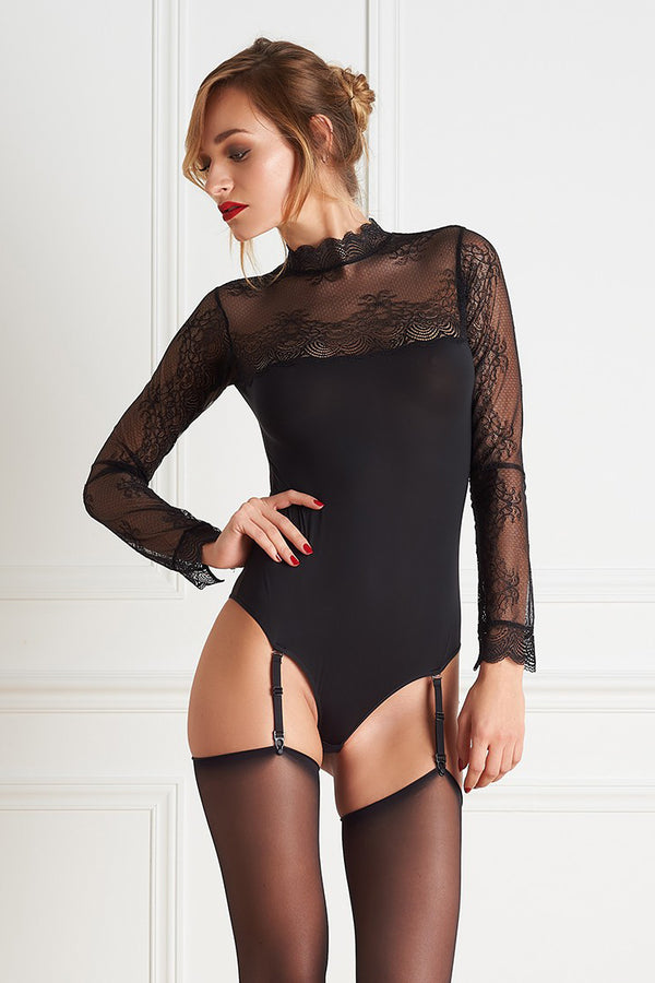 Maison Close La Directrice Thong Bodysuit