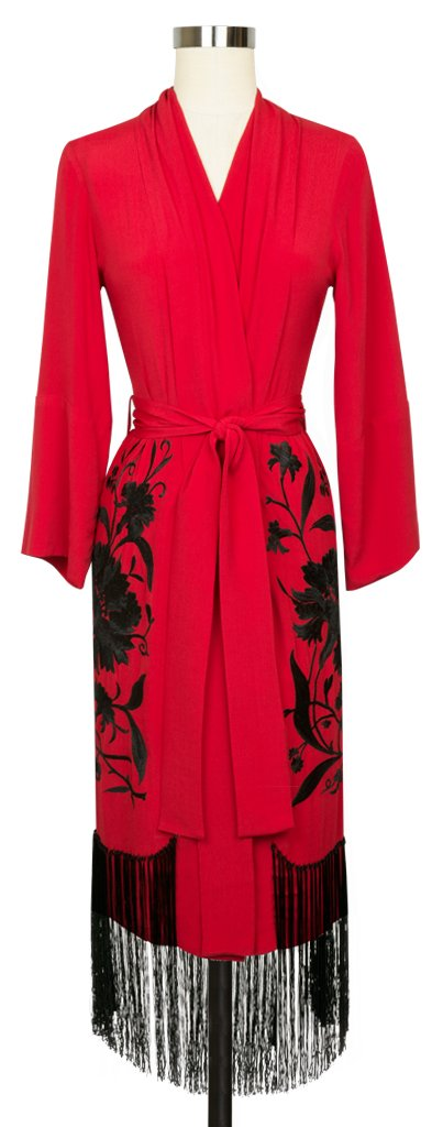 Flapper Robe - Red