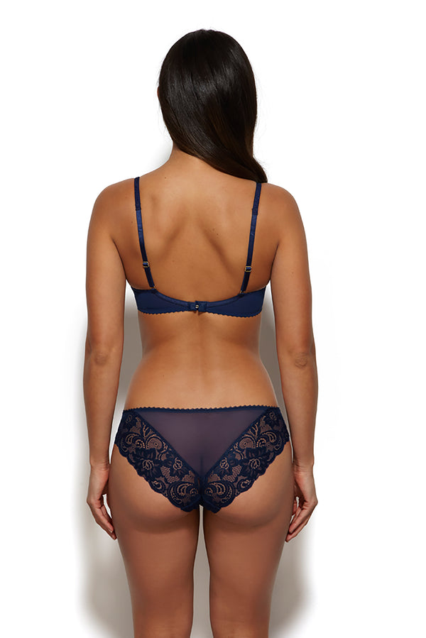 Gossard Gypsy Brief - Navy