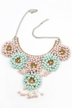 Jyo Pastel Pearls Beaded Necklace