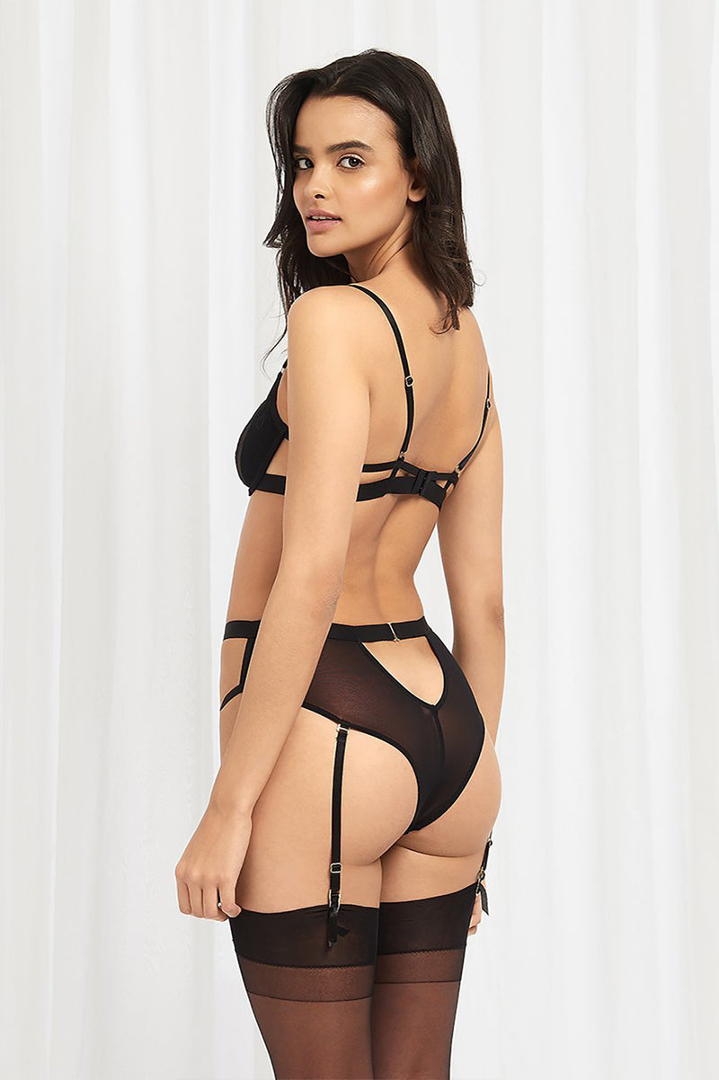 Bluebella - Lark High Waist Suspender Brief